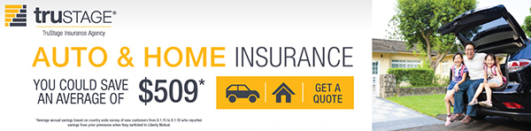 TruStage Insurance Ad Banner